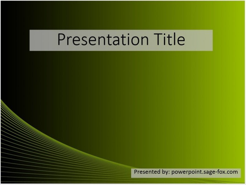 Free abstract green powerpoint template 3654 sagefox powerpoint free abstract green powerpoint template 3654 sagefox powerpoint templates toneelgroepblik Image collections