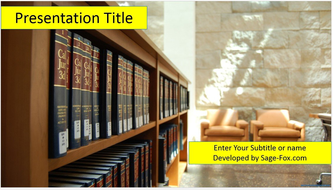 Free university library powerpoint 4614 sagefox powerpoint templates by james sager toneelgroepblik Gallery