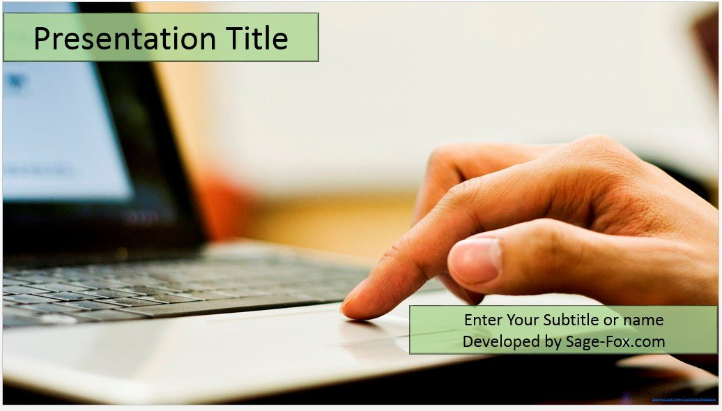 free online education powerpoint template 4478 sagefox
