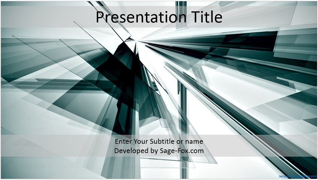 Abstract powerpoint template design templates ppt theme templates by james sager maxwellsz
