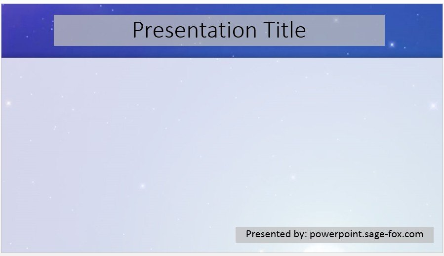 Free simple stars powerpoint 3883 sagefox powerpoint templates by james sager toneelgroepblik Images