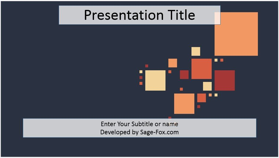 Free abstract pastel powerpoint template 3813 sagefox by james sager toneelgroepblik Images