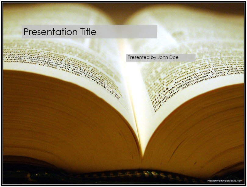 Free bible powerpoint template 4114 sagefox powerpoint templates by james sager toneelgroepblik Choice Image