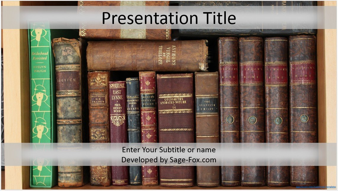 Free books powerpoint template 4291 sagefox powerpoint templates please share this free powerpoint template toneelgroepblik Images
