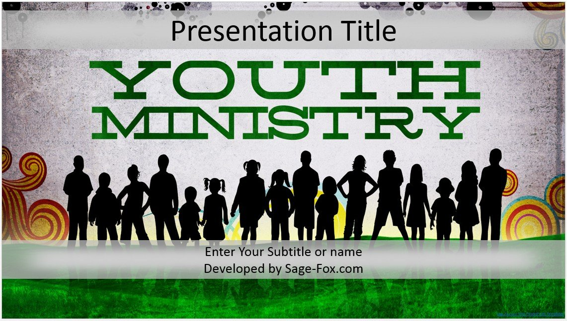 Free youth ministry powerpoint template 4224 sagefox powerpoint by james sager toneelgroepblik Image collections