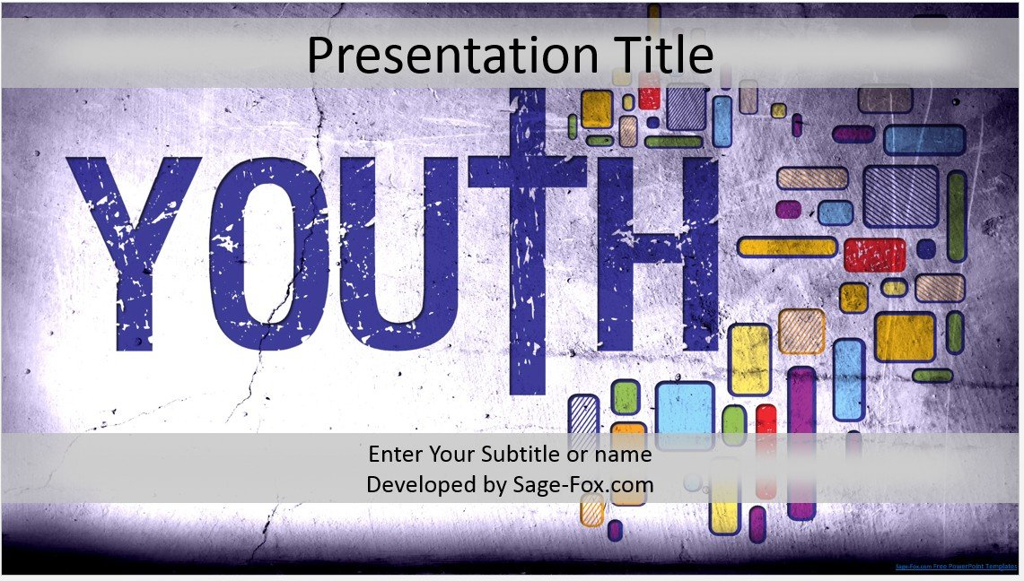 Free youth ministry powerpoint template 4229 sagefox powerpoint by james sager toneelgroepblik Image collections
