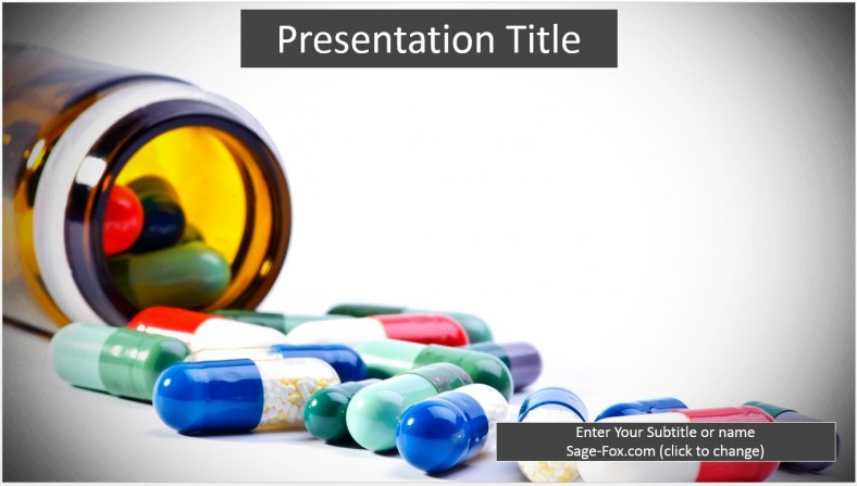 Free medication powerpoint template 6343 sagefox powerpoint medication powerpoint template toneelgroepblik Gallery