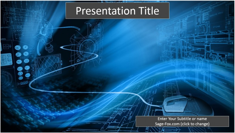 Free binary technology powerpoint template 6508 sagefox binary technology powerpoint template toneelgroepblik Images