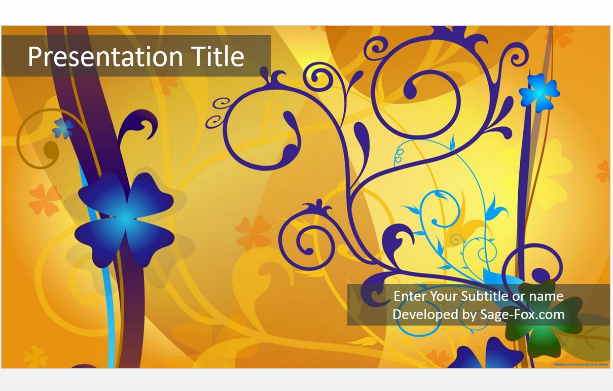 Free abstract powerpoint template 5047 sagefox powerpoint templates by james sager toneelgroepblik Image collections