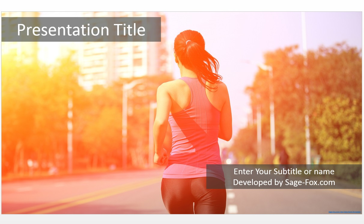 Exercise Powerpoint Template Pablo Penantly Co