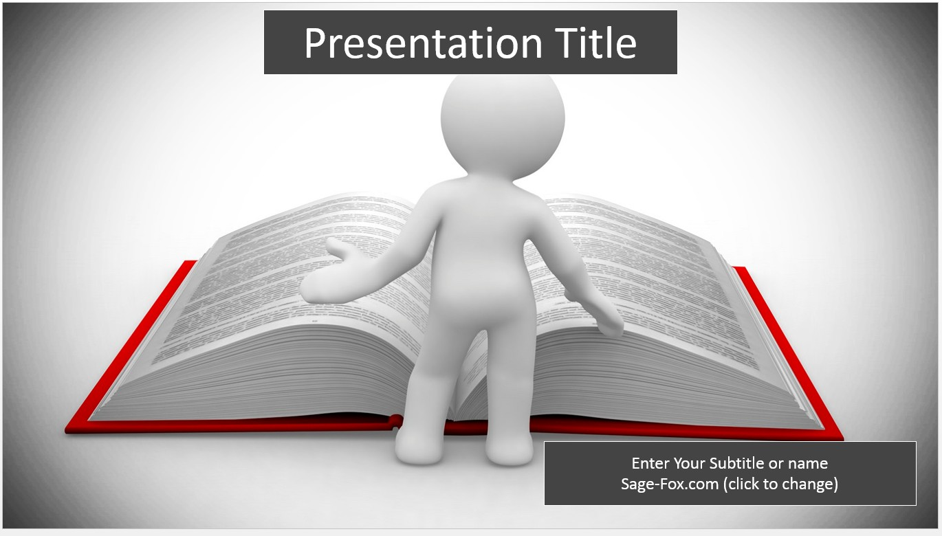 Free reading 3d template 6228 sagefox powerpoint templates by james sager toneelgroepblik Images