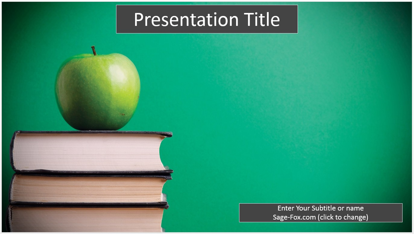 Free education powerpoint template 6238 sagefox powerpoint templates by james sager toneelgroepblik Images