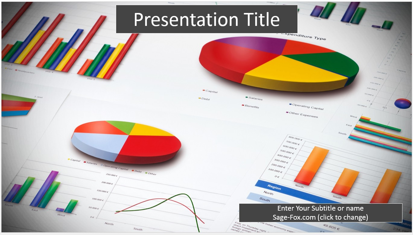 Free Business Reports PowerPoint Template #6308 | SageFox PowerPoint ...
