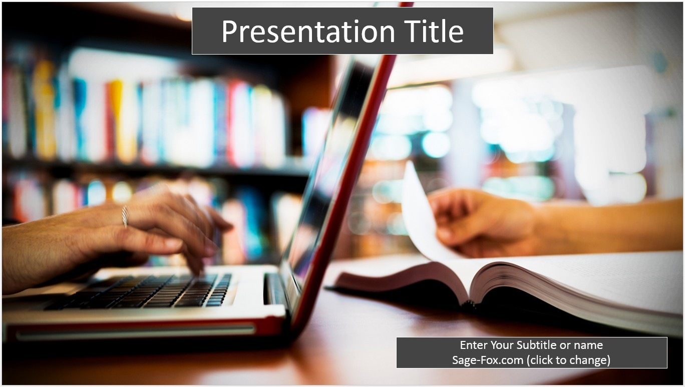 Free education online powerpoint template 6318 sagefox powerpoint by james sager alramifo Image collections