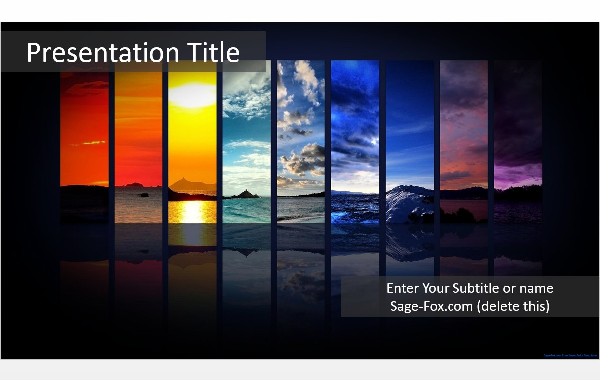 Free colorful powerpoint template 5639 sagefox powerpoint templates by james sager toneelgroepblik Image collections