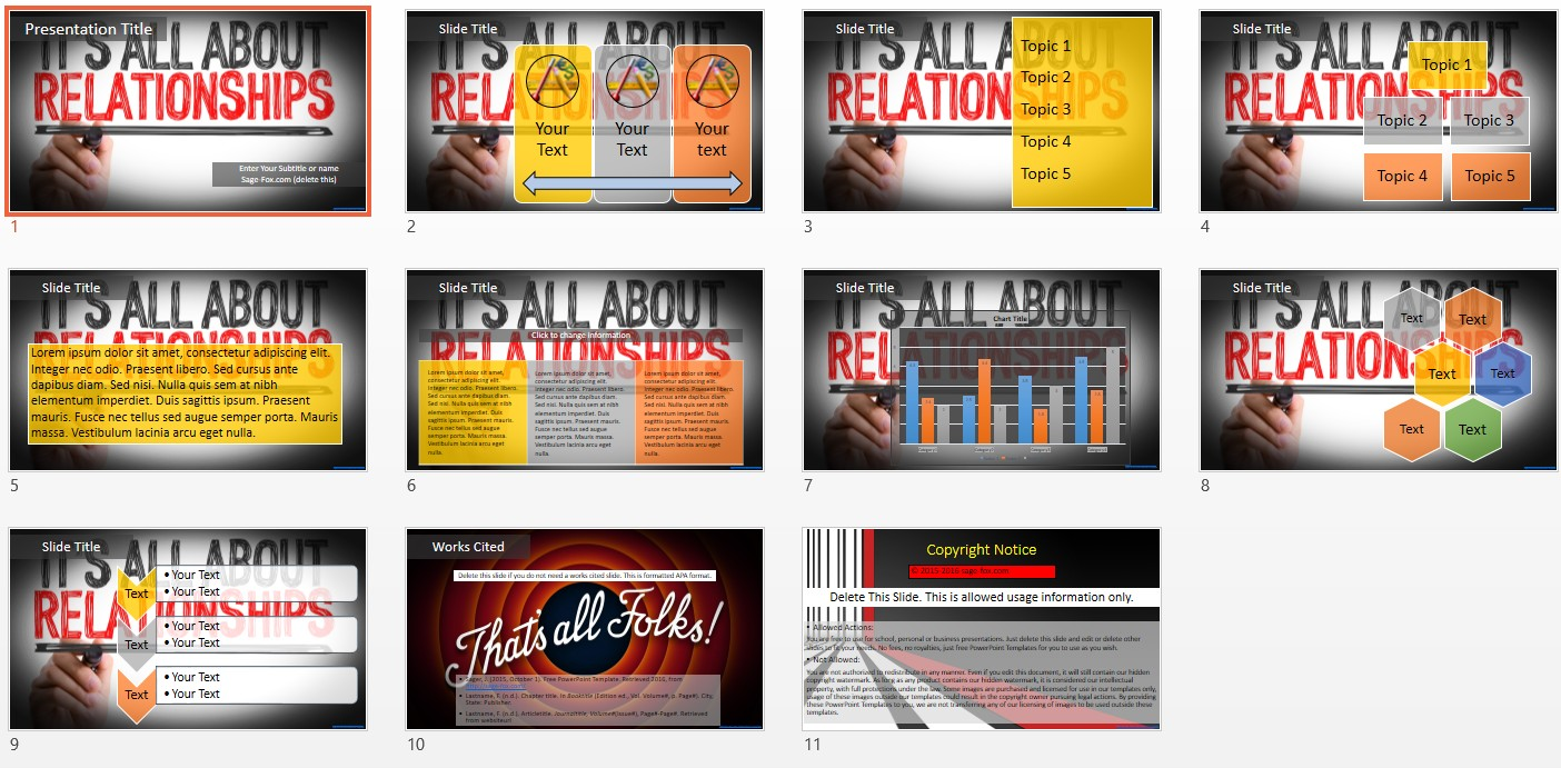 Free relationships powerpoint 5461 sagefox free powerpoint templates by james sager toneelgroepblik Images