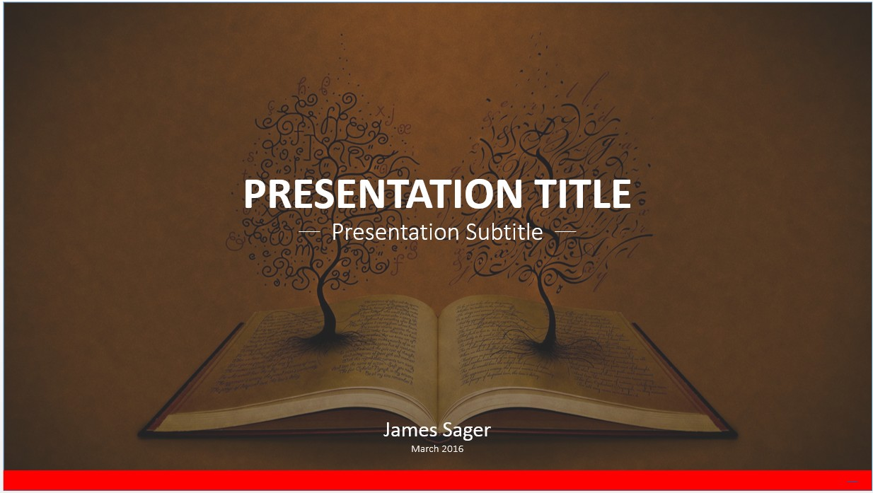 Free book art powerpoint template 8739 sagefox powerpoint book art powerpoint template toneelgroepblik