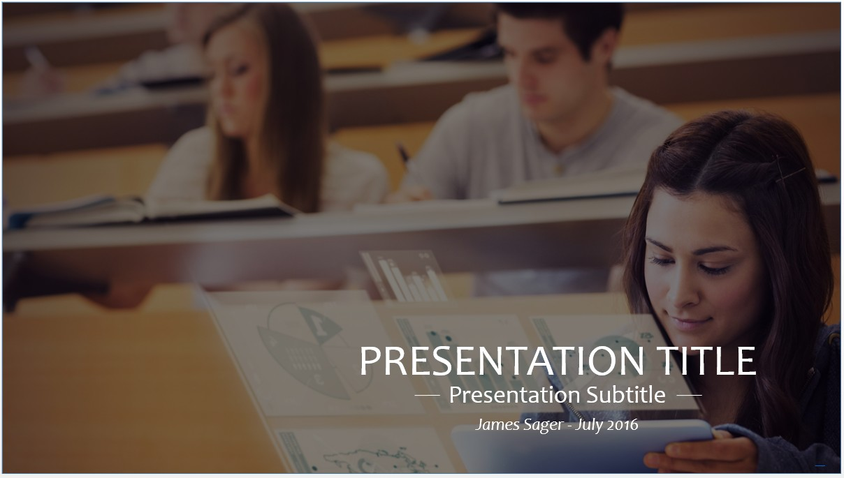 Free students in university powerpoint template 8844 sagefox by james sager toneelgroepblik Gallery