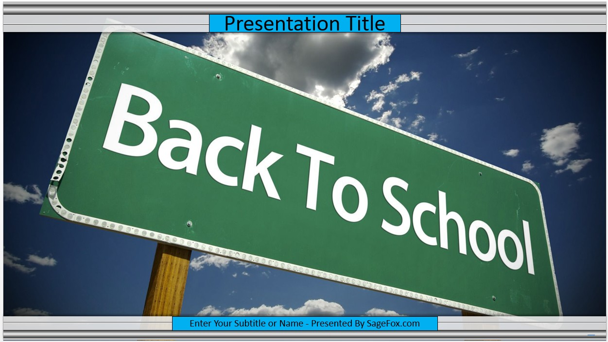 Free back to school powerpoint template 8729 sagefox powerpoint by james sager alramifo Image collections