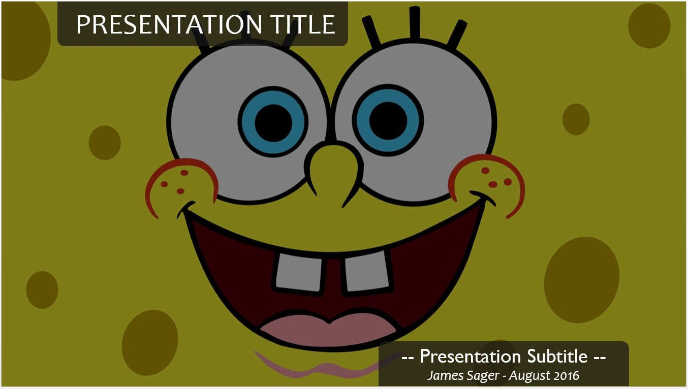 Free spongebob powerpoint template 11293 sagefox powerpoint by james sager toneelgroepblik Choice Image