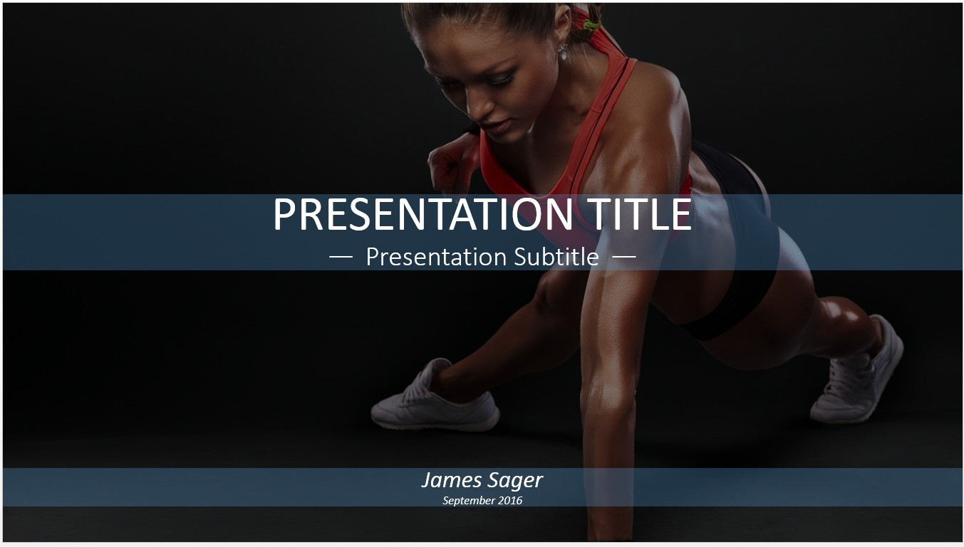 Free workout powerpoint template 11328 sagefox powerpoint templates by james sager toneelgroepblik Choice Image