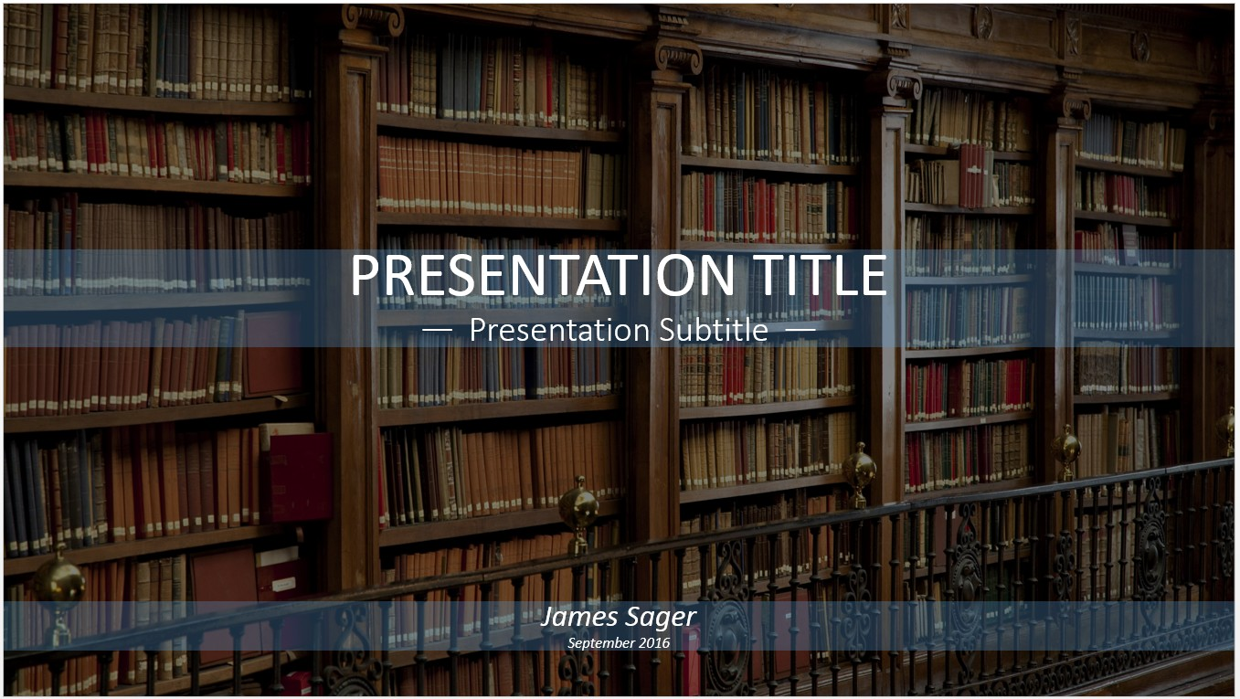Free library of old books powerpoint 11404 sagefox powerpoint by james sager toneelgroepblik Images