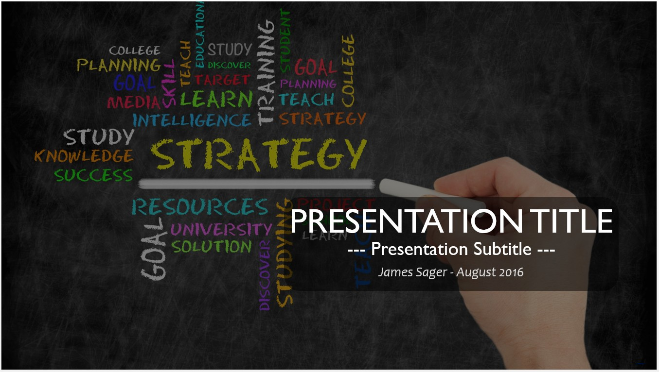 Free strategy powerpoint template 11424 sagefox powerpoint templates by james sager toneelgroepblik Gallery