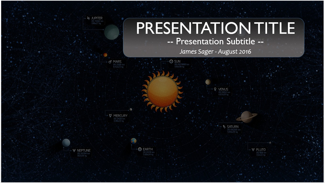 Free solar system powerpoint 11529 sagefox powerpoint templates by james sager toneelgroepblik Image collections