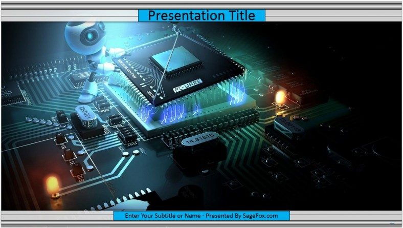 Free electronics powerpoint template 9582 sagefox powerpoint electronics powerpoint template toneelgroepblik Gallery