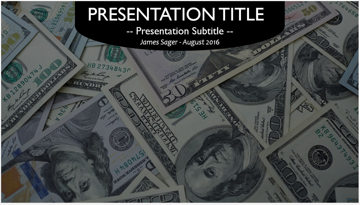 Free money powerpoint template 10509 sagefox free powerpoint by james sager toneelgroepblik Choice Image