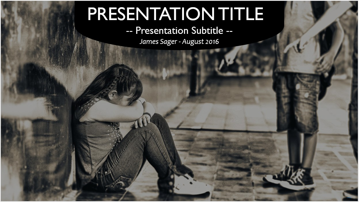 Free school bullying powerpoint template 10524 sagefox please share this free powerpoint template toneelgroepblik Choice Image