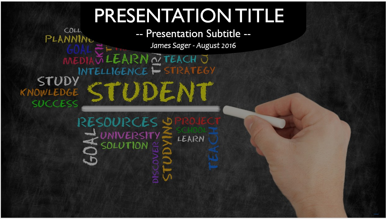 Free student powerpoint template 10555 sagefox free powerpoint by james sager toneelgroepblik Image collections