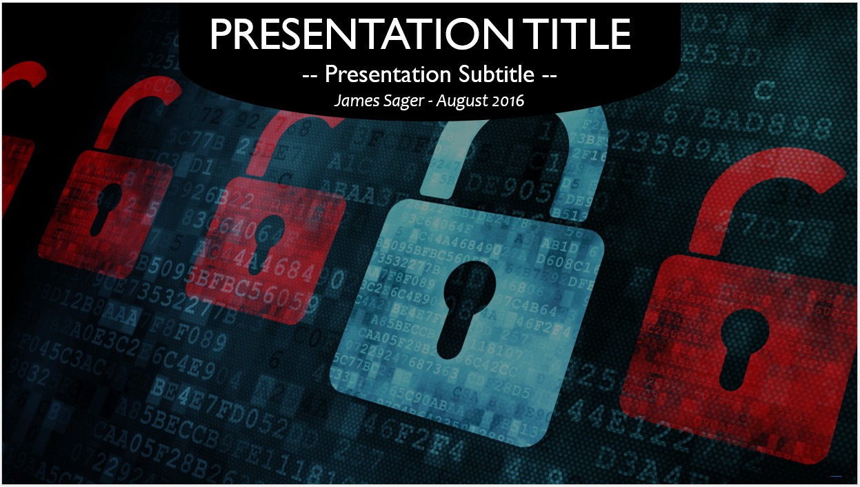 Free computer security powerpoint template 10575 sagefox by james sager toneelgroepblik Gallery