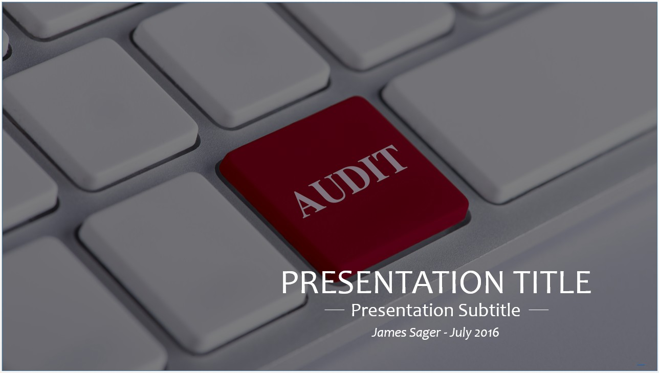 Please Share This Free PowerPoint Template  Audit Templates Free