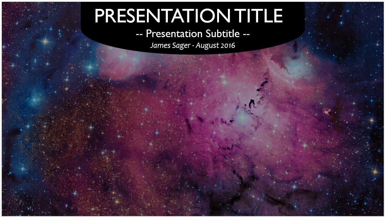 Free galaxy powerpoint template 10474 sagefox powerpoint templates galaxy powerpoint template toneelgroepblik Images