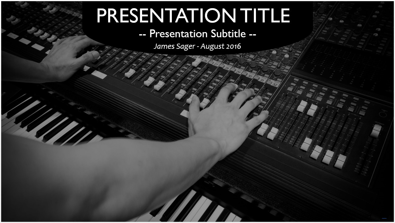 Free mixer and electric piano powerpoint 10800 sagefox powerpoint by james sager toneelgroepblik Choice Image