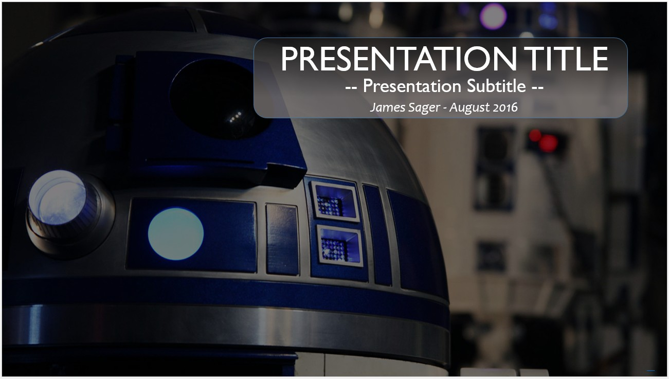 Free r2d2 powerpoint template 10830 sagefox free powerpoint by james sager toneelgroepblik Choice Image