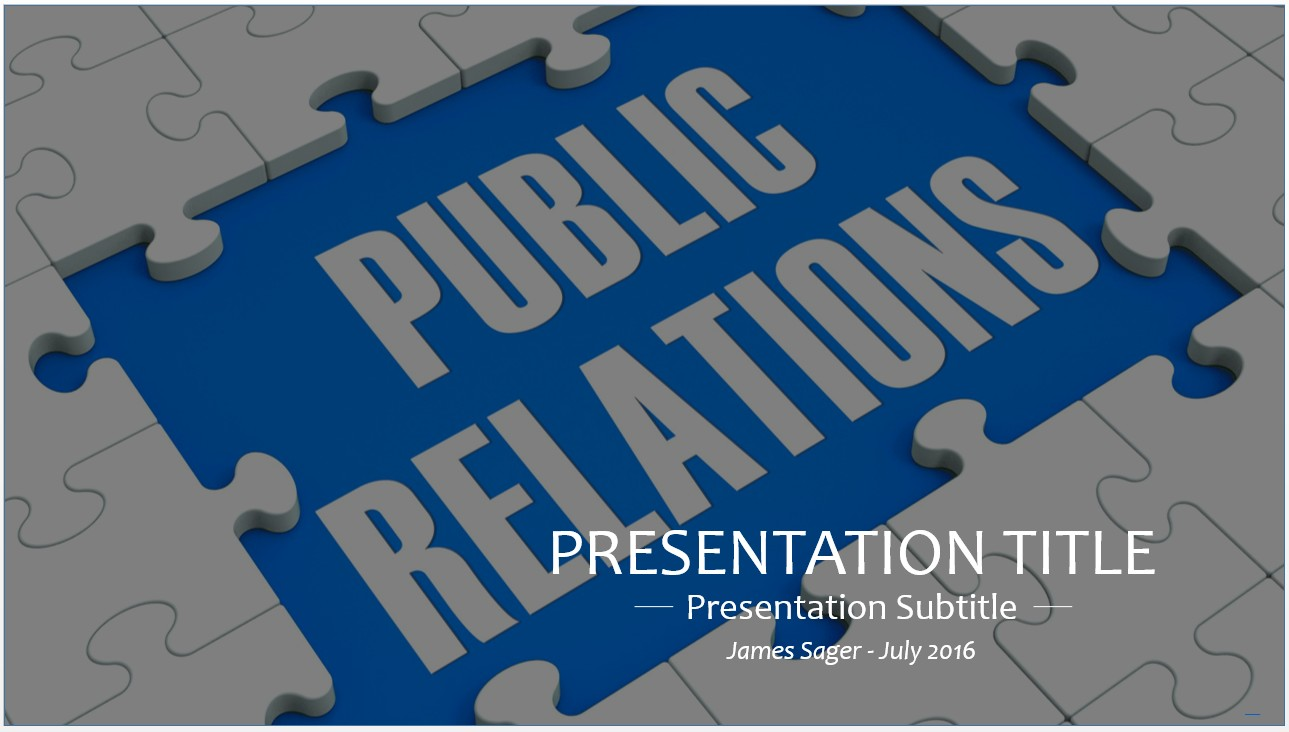 public relations powerpoint template koni polycode co