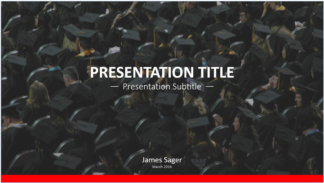 Free graduation powerpoint 10970 sagefox powerpoint templates by james sager toneelgroepblik