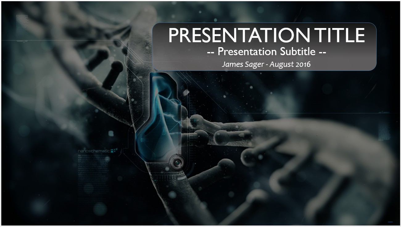 Free dna powerpoint 10985 sagefox powerpoint templates by james sager toneelgroepblik Image collections