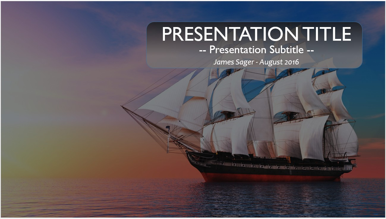 Free ship powerpoint template 11035 sagefox powerpoint templates by james sager toneelgroepblik Images