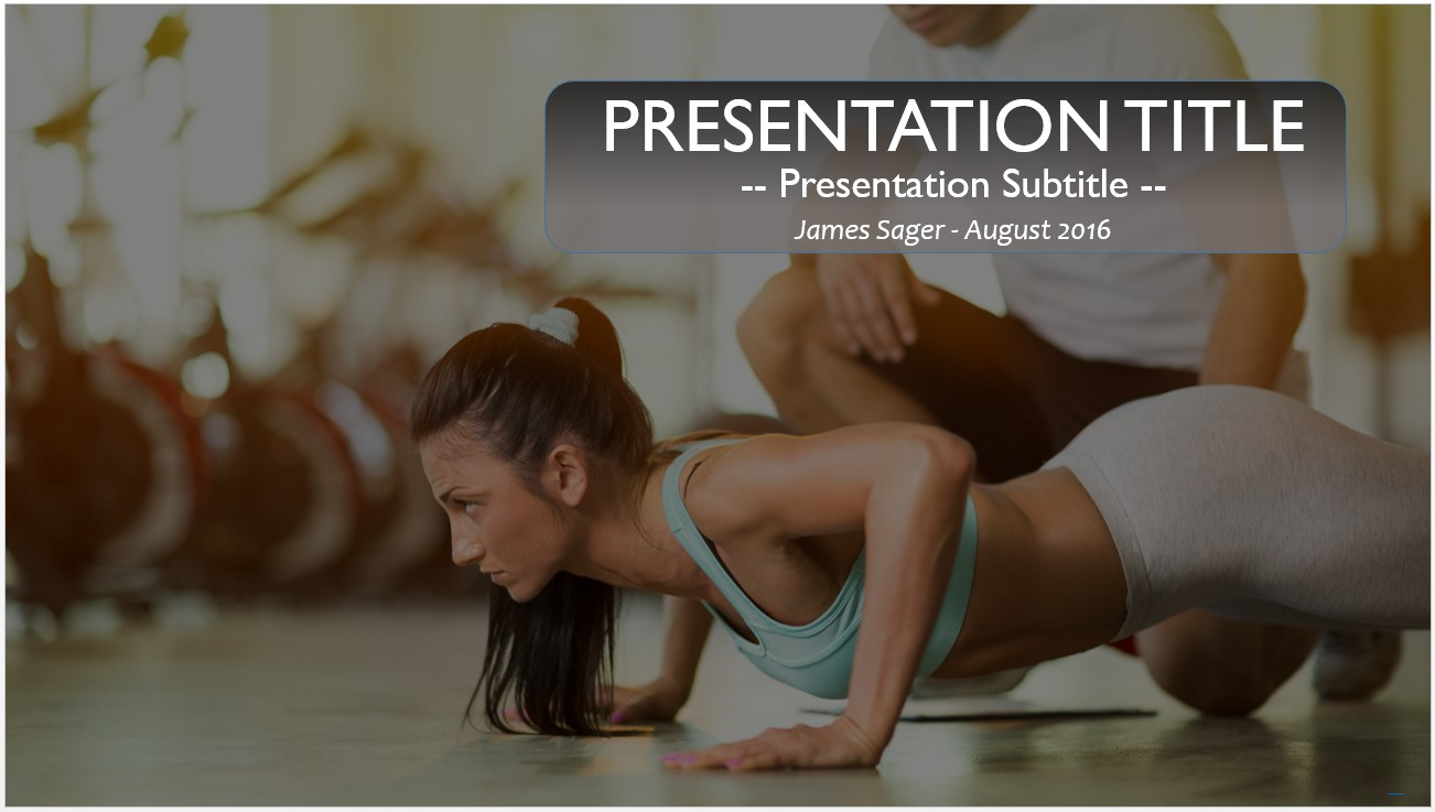 Free personal trainer powerpoint 11135 sagefox powerpoint please share this free powerpoint template toneelgroepblik Image collections