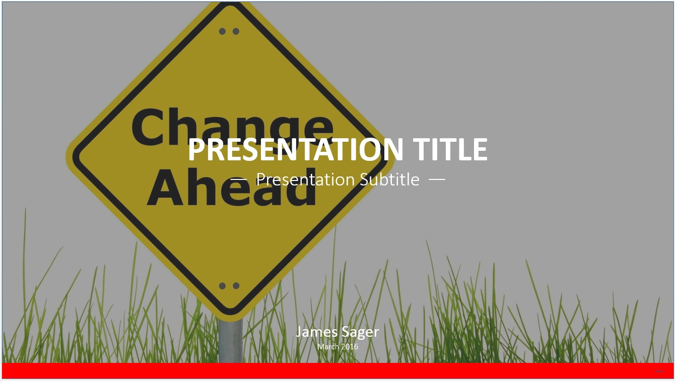 free change ahead powerpoint template 10198 sagefox free