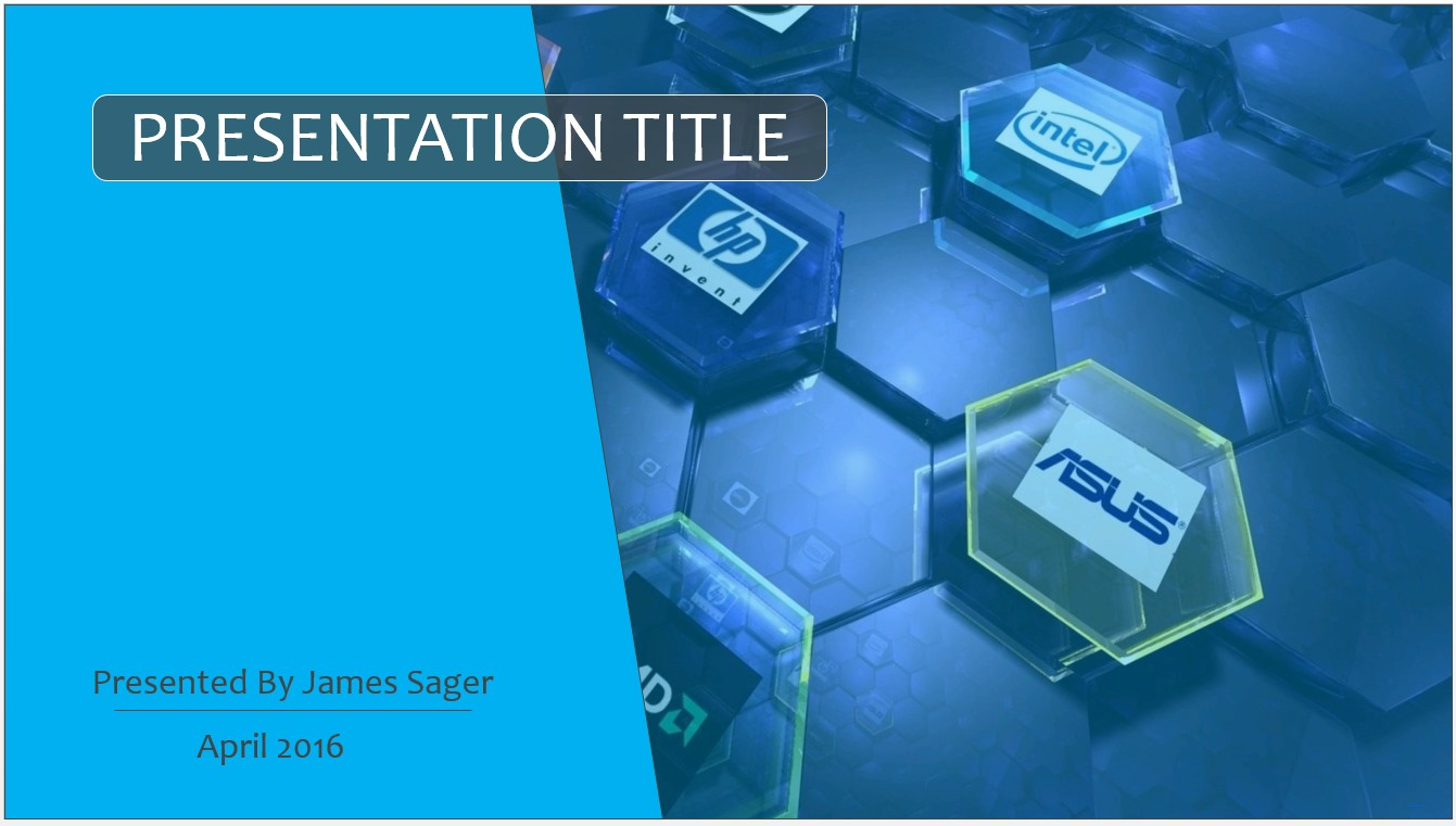 technology powerpoint templates free