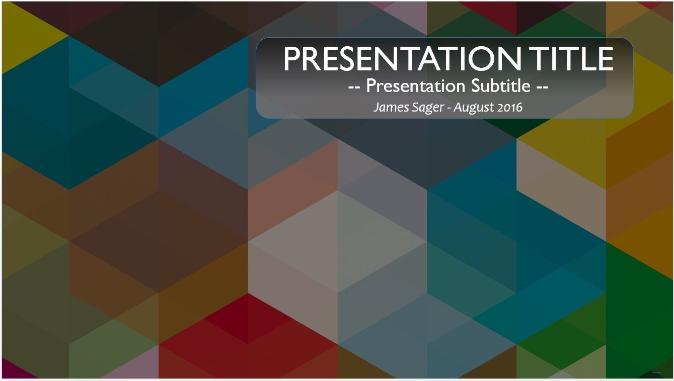 Free colorful shapes powerpoint template 10263 sagefox powerpoint by james sager toneelgroepblik Gallery