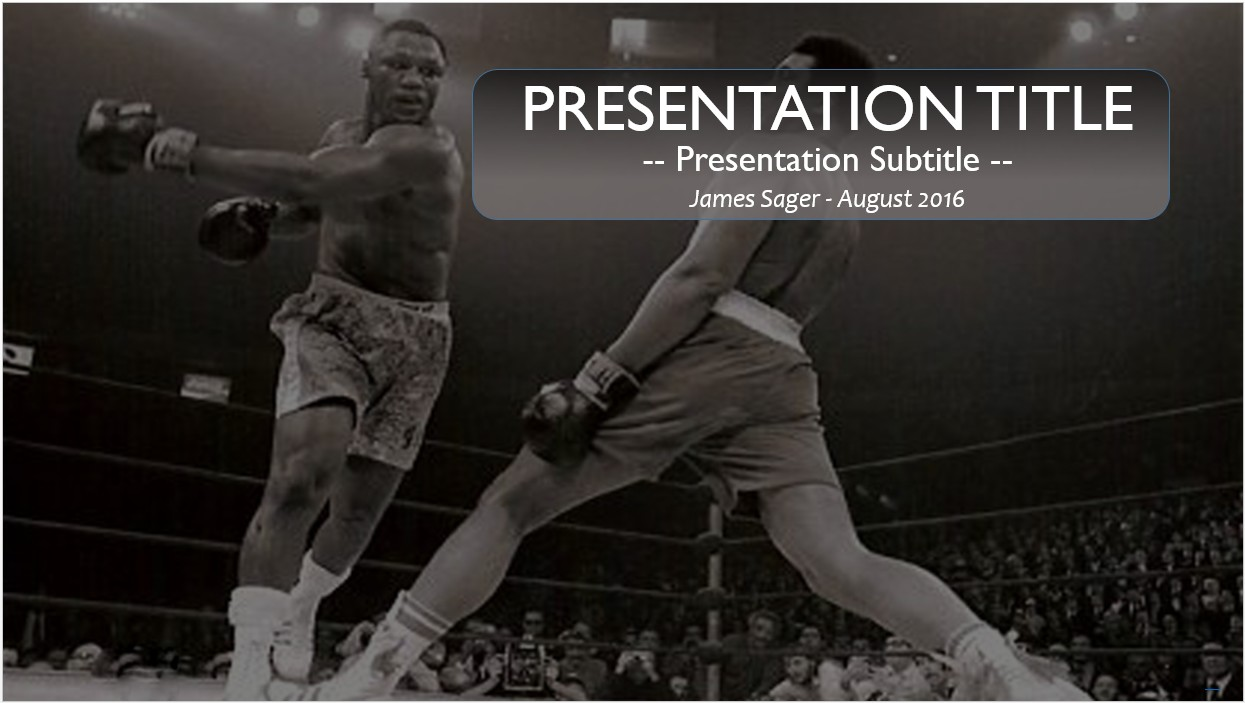 Free boxing powerpoint template 10660 sagefox powerpoint templates by james sager toneelgroepblik Image collections