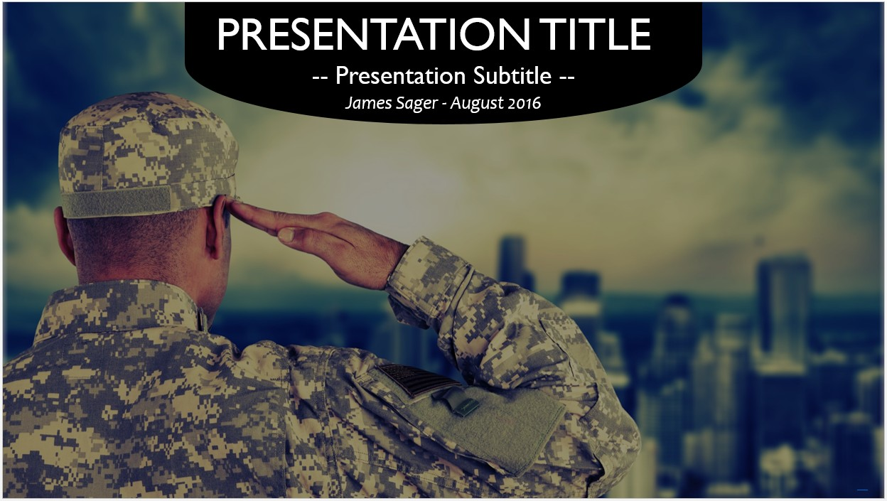 Free military powerpoint template 10730 sagefox powerpoint templates by james sager toneelgroepblik Choice Image