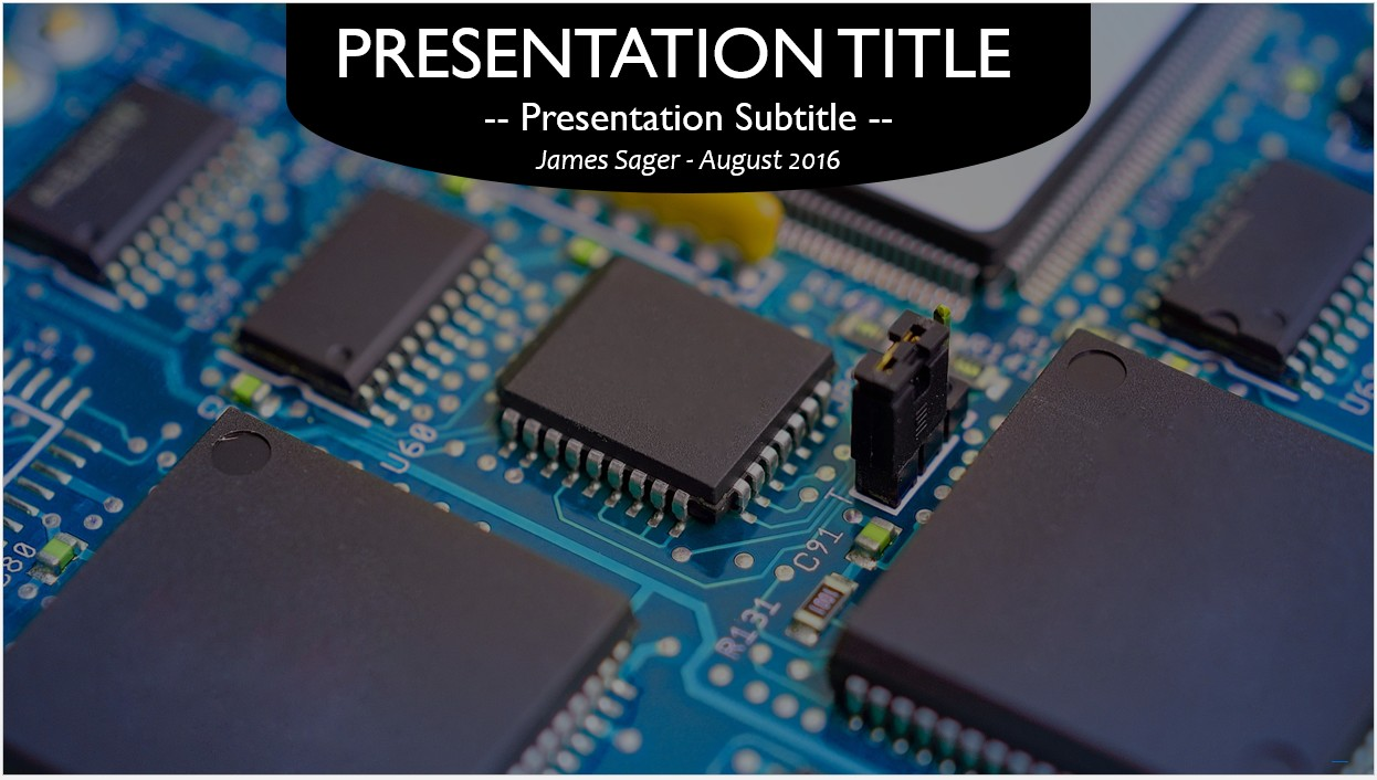 Circuit board powerpoint template roho4senses circuit board powerpoint template toneelgroepblik Image collections