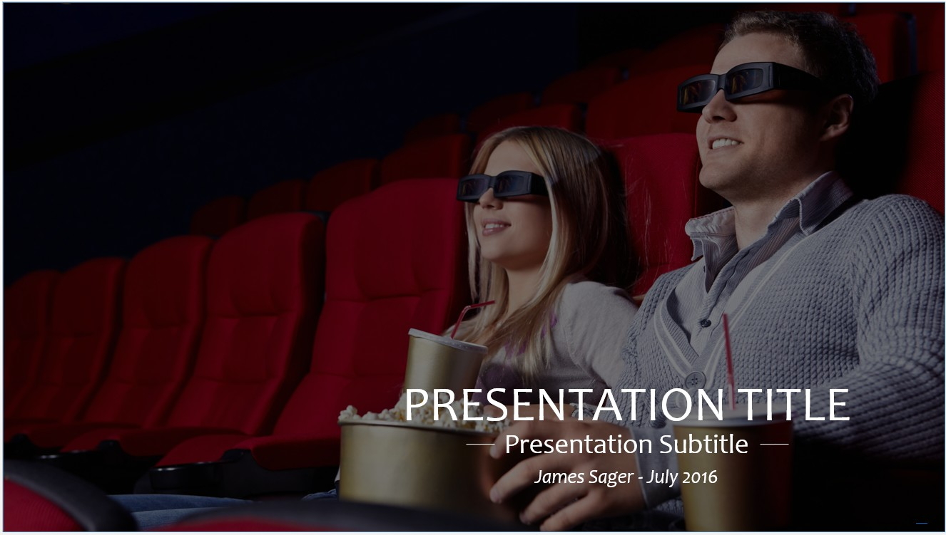 Free movies powerpoint template 10359 sagefox powerpoint templates by james sager toneelgroepblik Choice Image