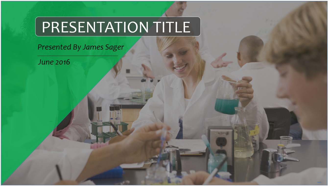 Free high school science class powerpoint template 10399 sagefox by james sager toneelgroepblik Images